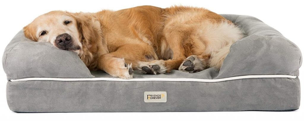 Best Dog Beds For Large Breeds - Friends Forever Memory