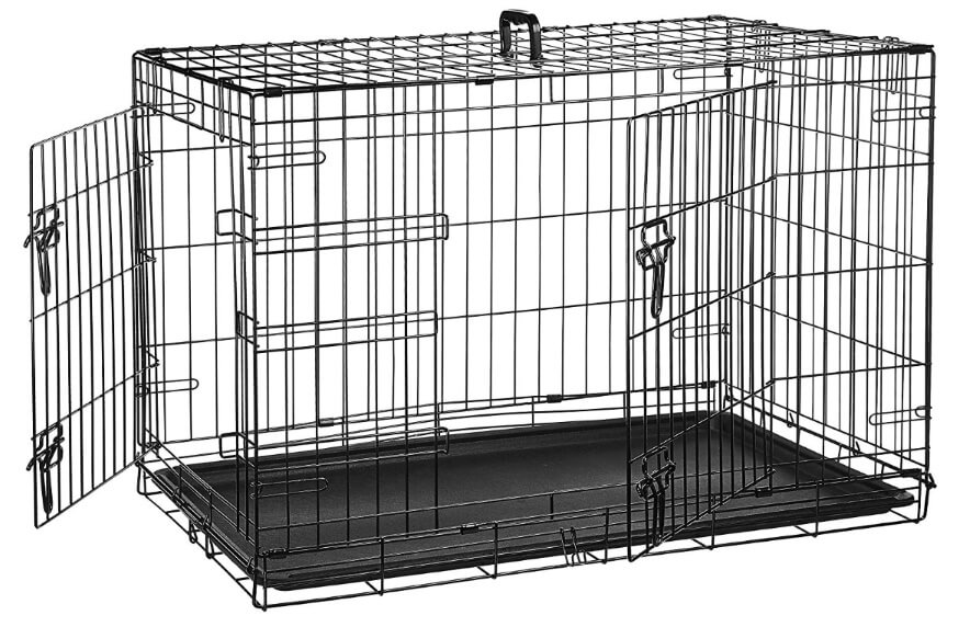 How To Crate Train A Puppy - Wire