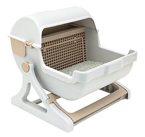 Best Self-Cleaning Litter Boxes - Le You Pet Semi-Automatic