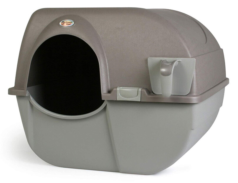 Best Self-Cleaning Litter Boxes - Omega Paw Self-Cleaning