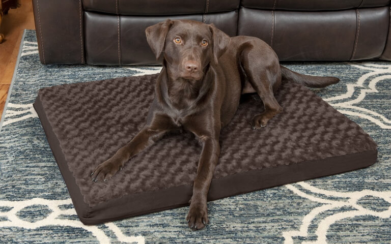 FurHaven Deluxe Ultra-Plush Mattress Bed