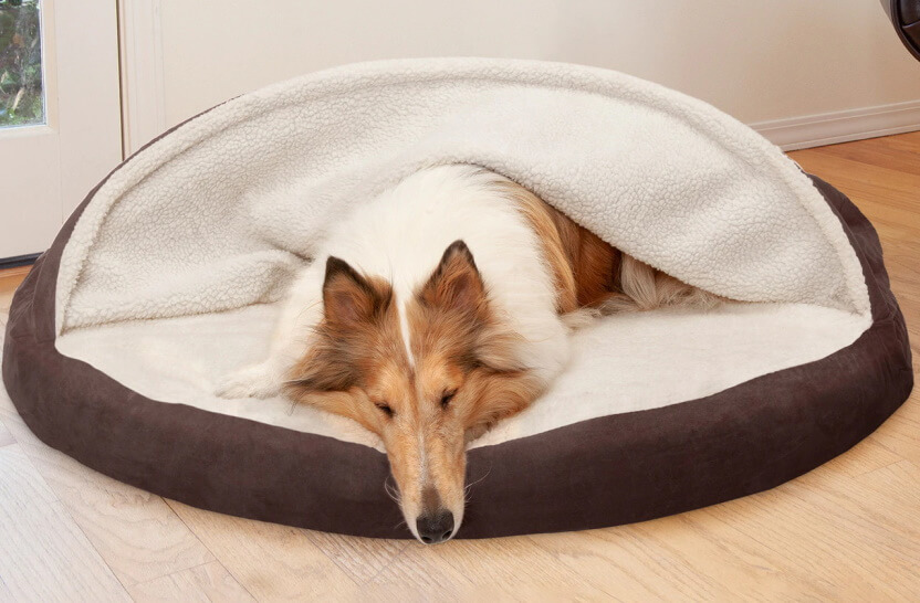 FurHaven Snuggery Burrow Bed