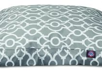 Majestic Pet Memory Foam Rectangle Dog Bed