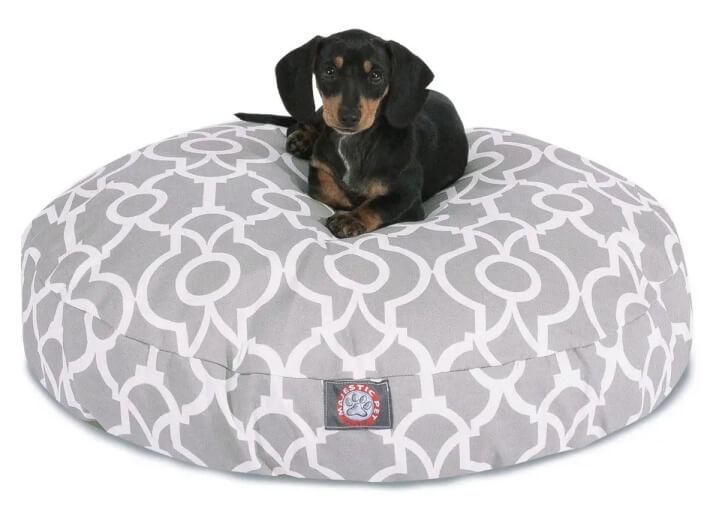 Majestic Pet Round Dog Bed 1