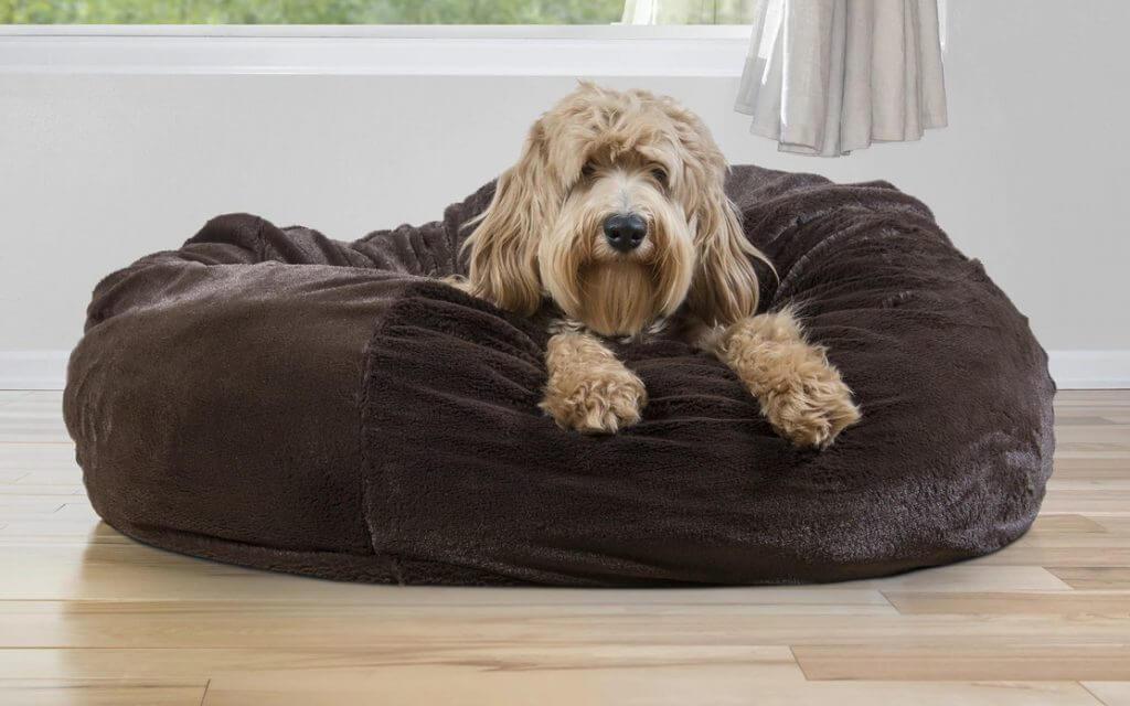 FurHaven Plush Ball Pet Bed